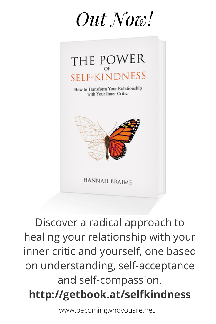 Want to transform your relationship with your inner critic? 'The Power of Self-Kindness' is out now! http://getbook.at/selfkindness