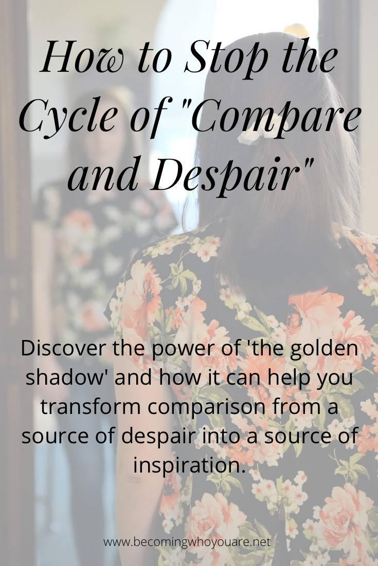 Discover the power of 'the golden shadow' and how it can help you transform comparison from a source of despair into a source of inspiration.