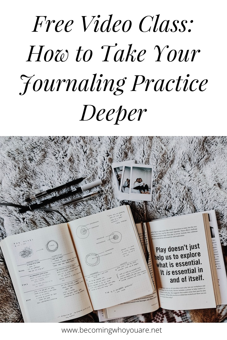 Want to learn how to deepen your journaling practice? Click the image to discover 10 new ways to take your writing deeper