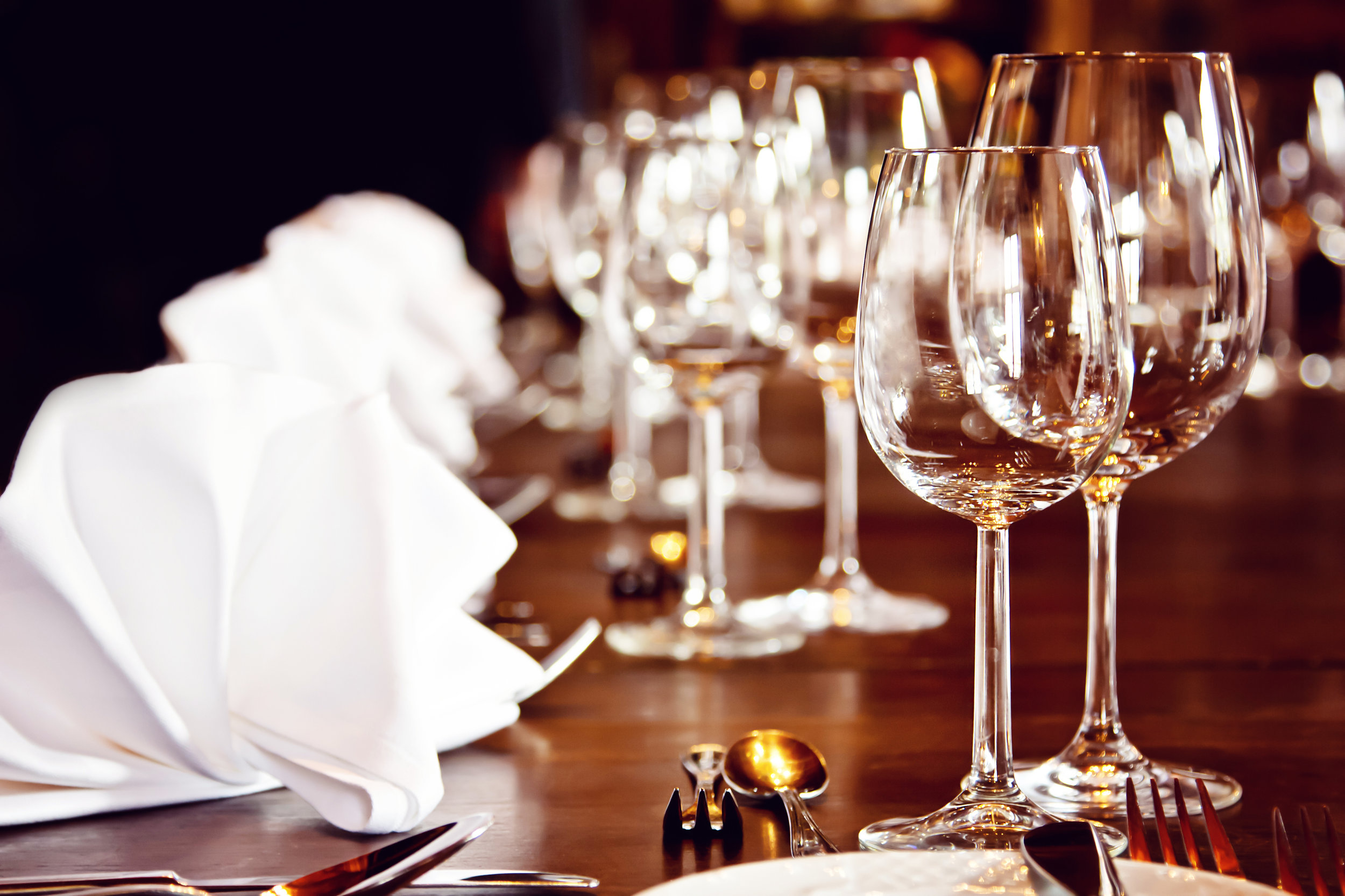 Glassware - An extensive list of glassware options for you to choose from!