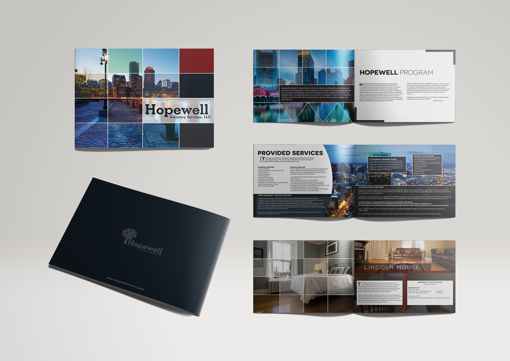 Health and Recovery Brochure Design Services