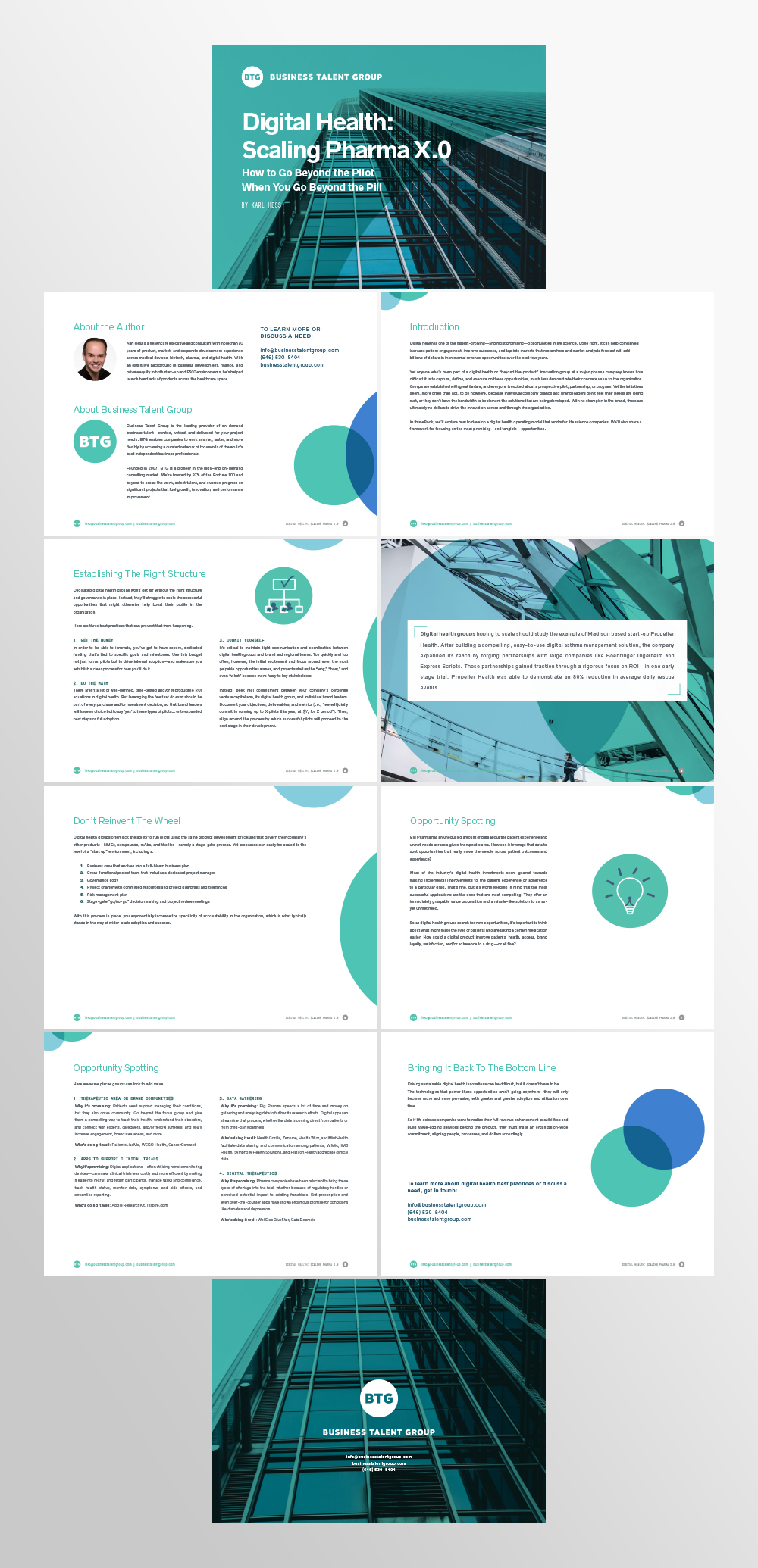 Corporate E-Book Presentation Design Services