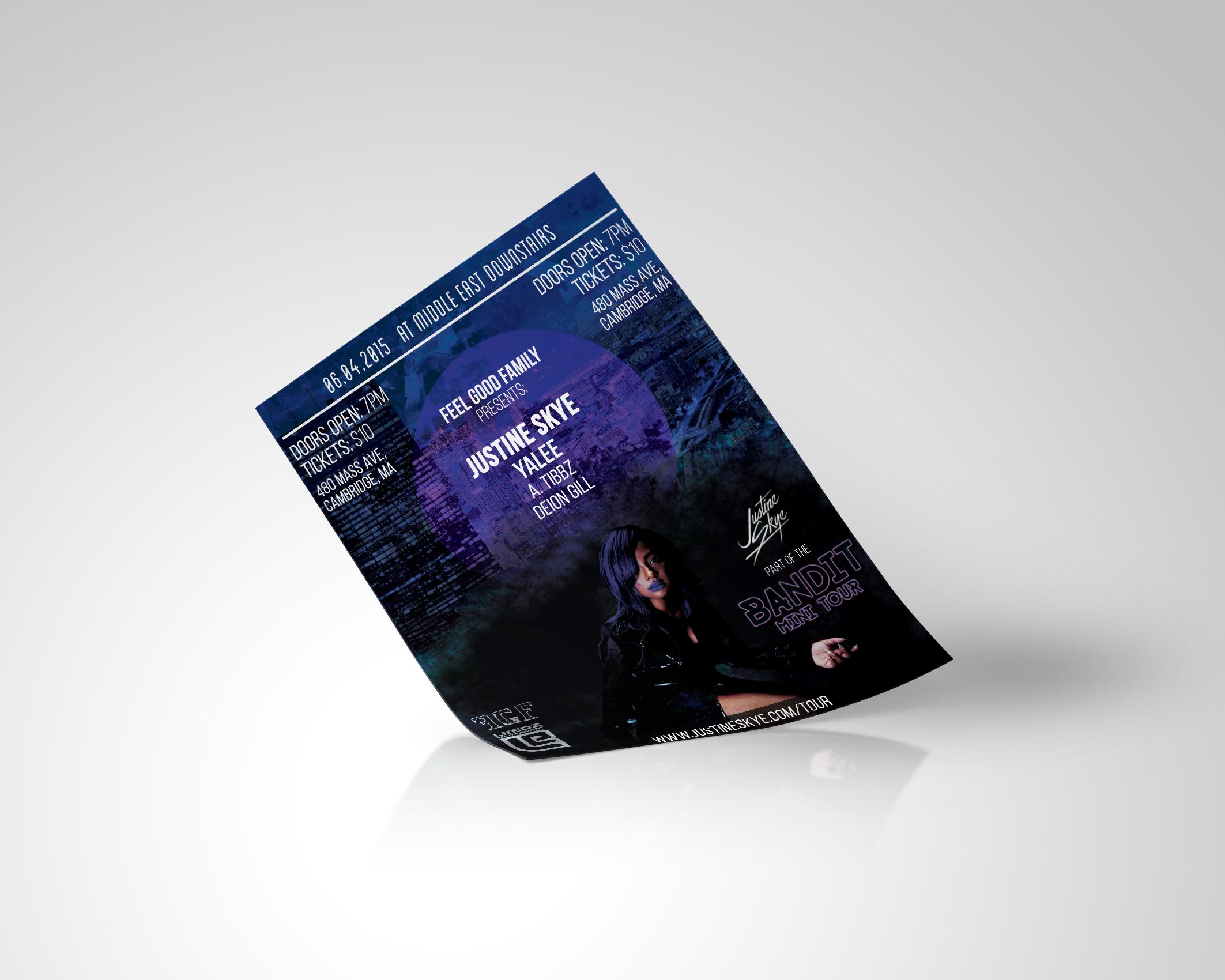 Live Concert Flyer Design Services