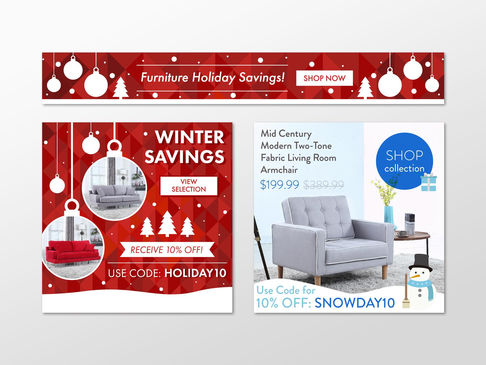 E-commerce Banner Ad Design Services