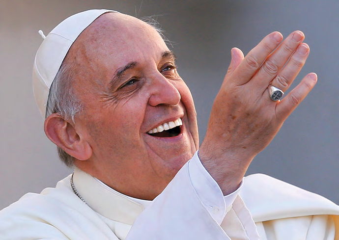"""Pope Francis - """"Dear young people, make the most of these years of your youth. Don't observe life from a balcony. Don't confuse happiness with an armchair, or live your life behind a screen. Whatever you do, do not become the sorry sight of an abandoned vehicle! Don't be parked cars, but dream freely and make good decisions. Take risks, even if it means making mistakes. Don't go through life anesthetized or approach the world like tourists. Make a ruckus! Cast out the fears that paralyze you, so that you don't become young mummies. Live! Give yourselves over to the best of life! Open the door of the cage, go out and fly! Please, don't take early retirement"""" (Christus Vivit 108)."""