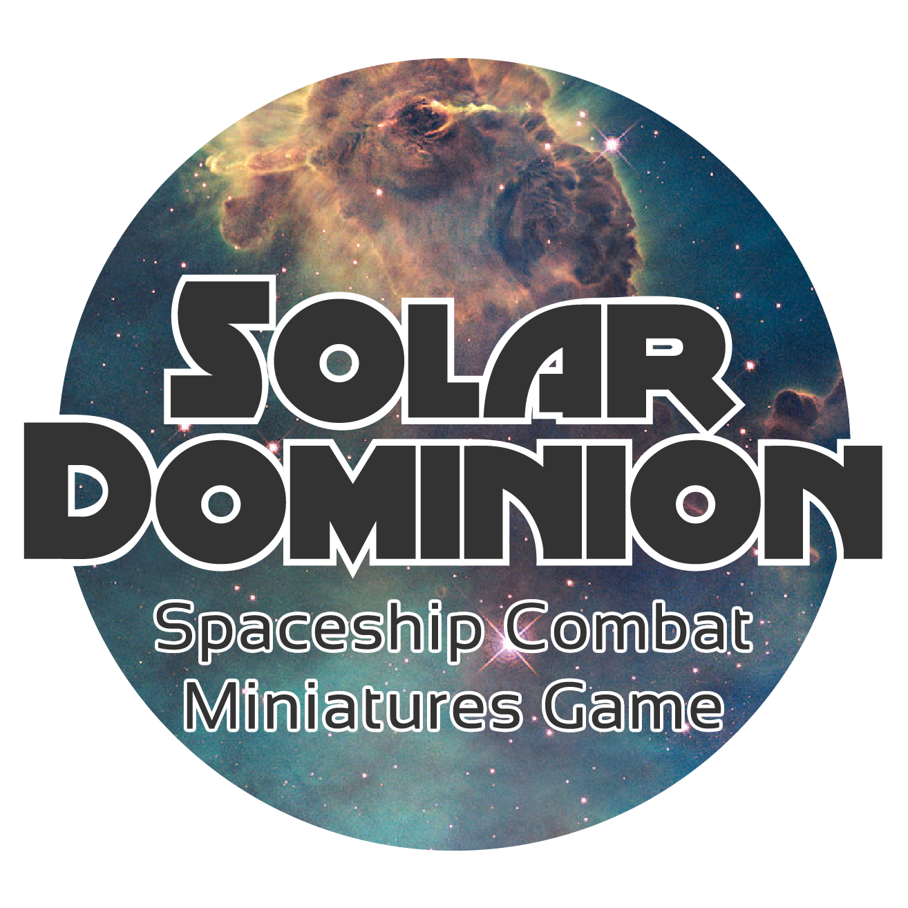 Solar Dominion - A tabletop spaceship skirmish wargame and science fiction universe. Find out more at solardomion.co.uk