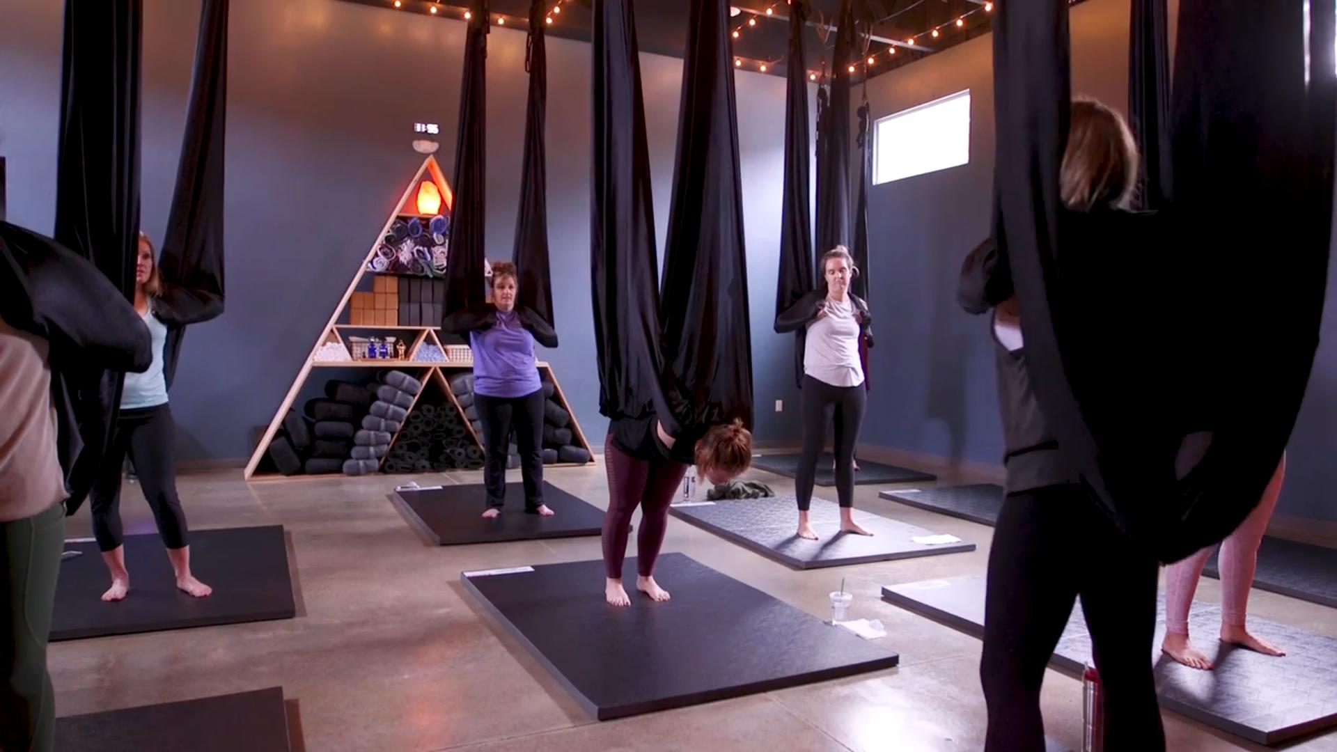 $20 - Aerial Yoga Drop-In