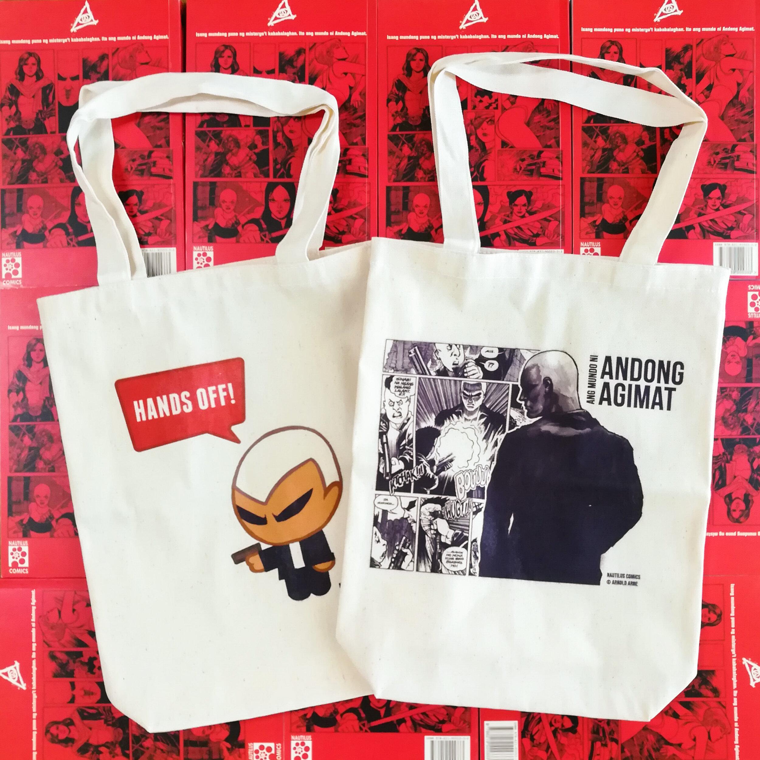 Andong Agimat canvas bag