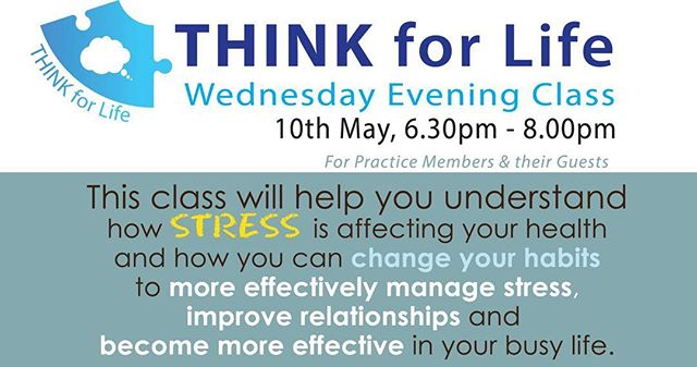 Think for Life Class #thinkforlife #stressmanagement #bundaberg
