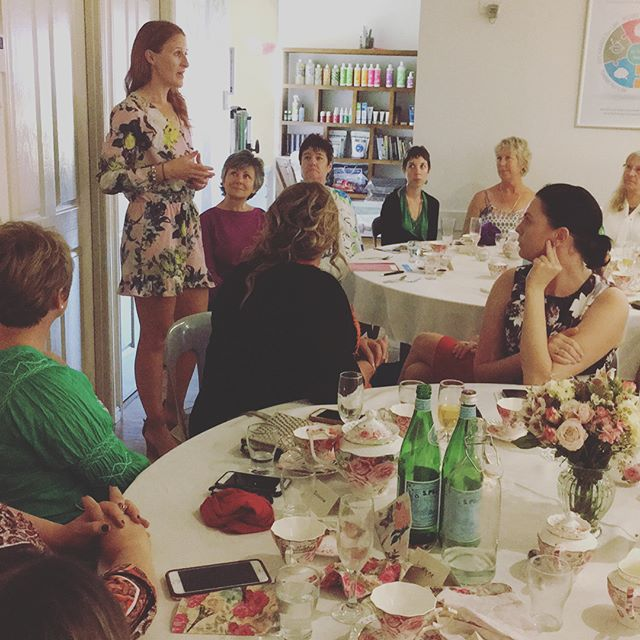 Women's Wellness High Tea #womenshealth #hightea #womenswellbeing