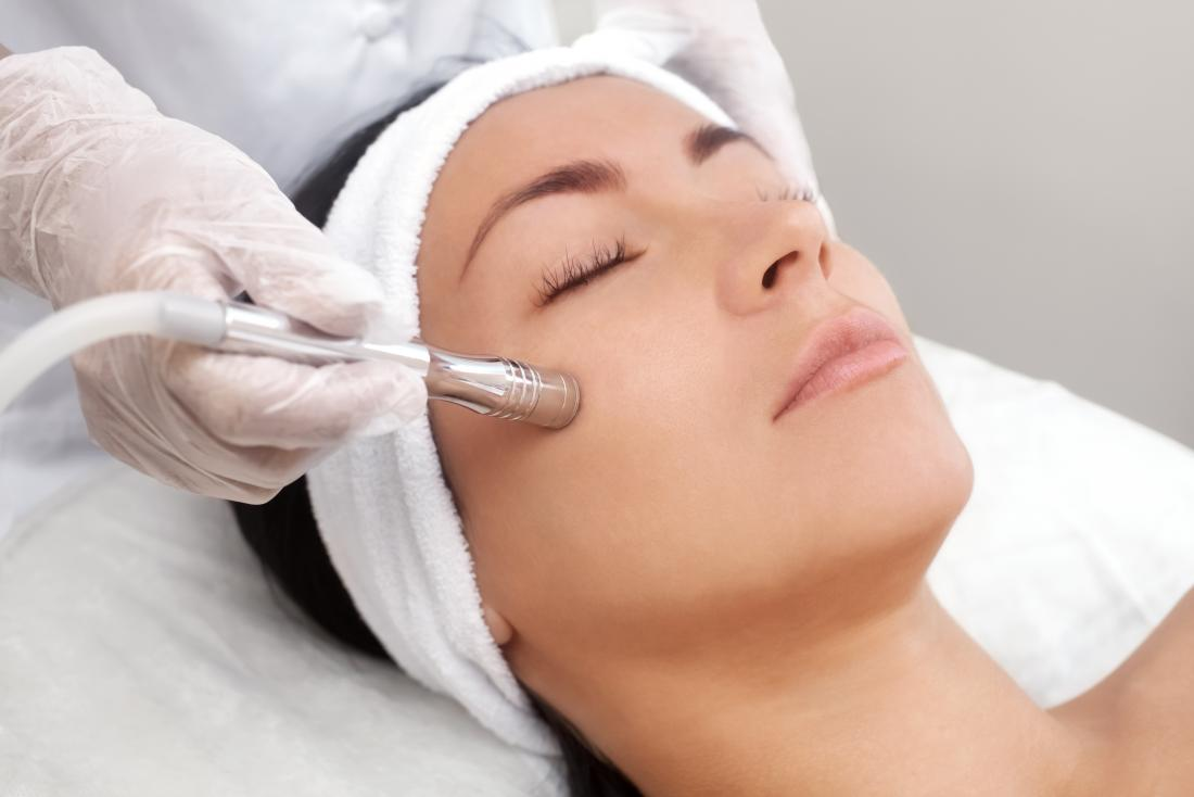 Dermabrasion facial - Reduce aging and treat Acne Scars