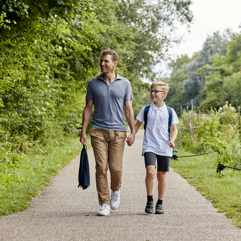 The school run, at a different pace. - Remember the road works, parking on double-yellows, the frazzled start to the day — before school had even begun? Time wasted. How about healthy, happy faces, and scooters at the ready? Top schools on your doorstep and a rich stream of extra-curricular activities.