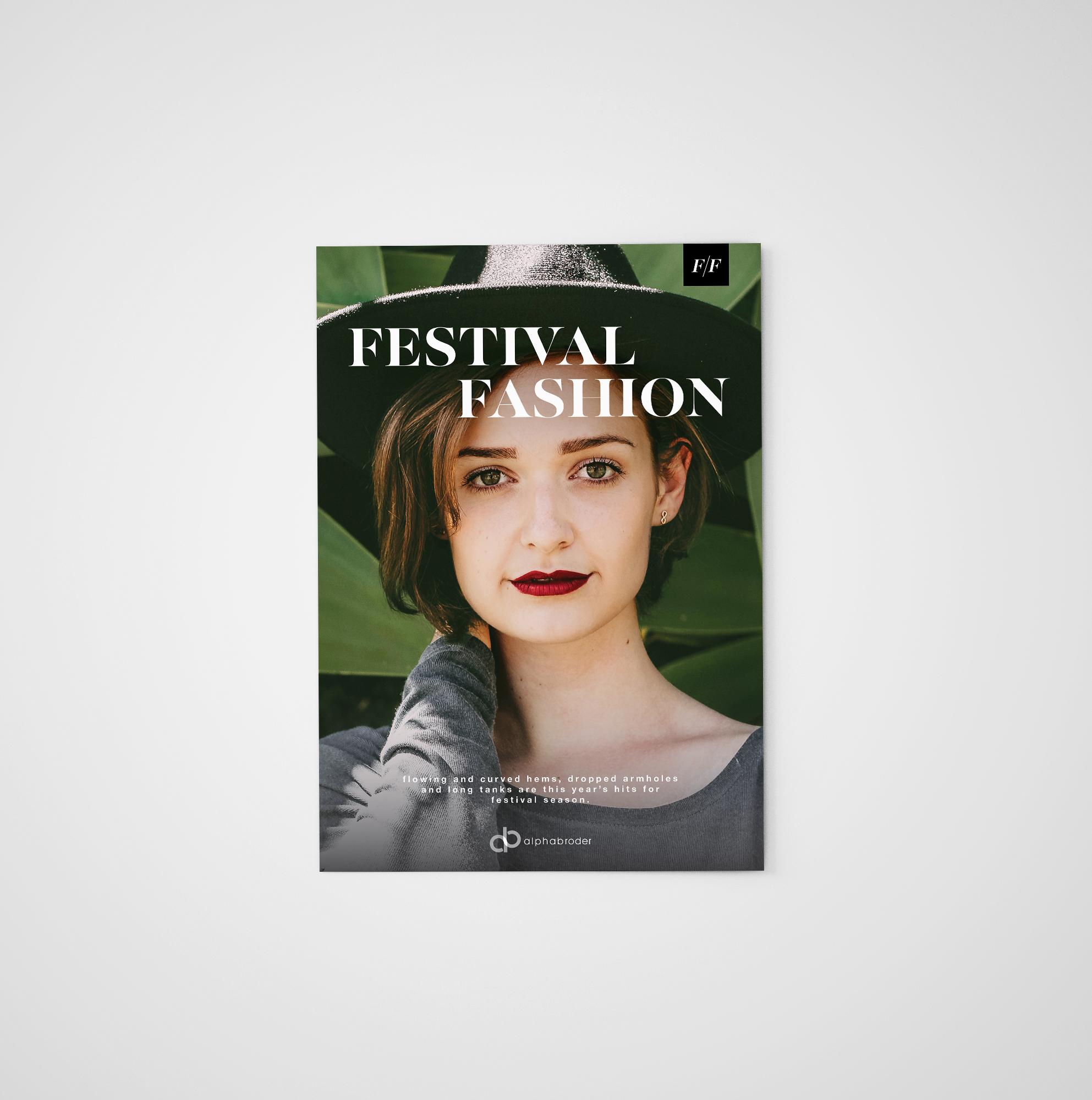 S/S '17 Festival Fashion Print Ad