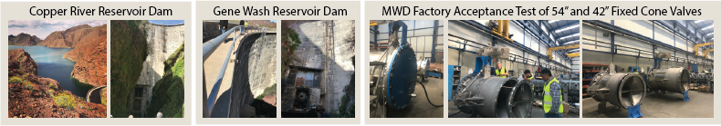 """Integrated 8(a) Solutions supplied a 54"""" and a 42"""" fixed cone valve to The Metropolitan Water District of Southern California."""