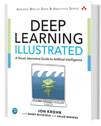 Dr Jon Krohn and Dr Grant Beyleveld publication on deep learning - A Visual, Interactive Guide to Artificial Intelligence
