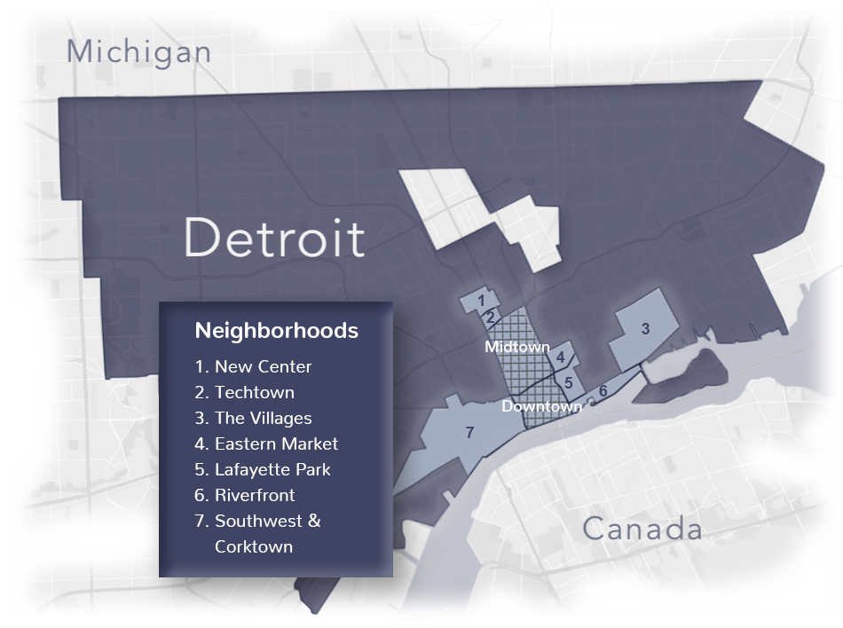 Investing In Growing Neighborhoods - Greatwater is focusing its efforts on several key neighborhoods that offer the greatest potential for dense, mixed-use development. We believe those neighborhoods are attractive places to live and offer significant investment upside.