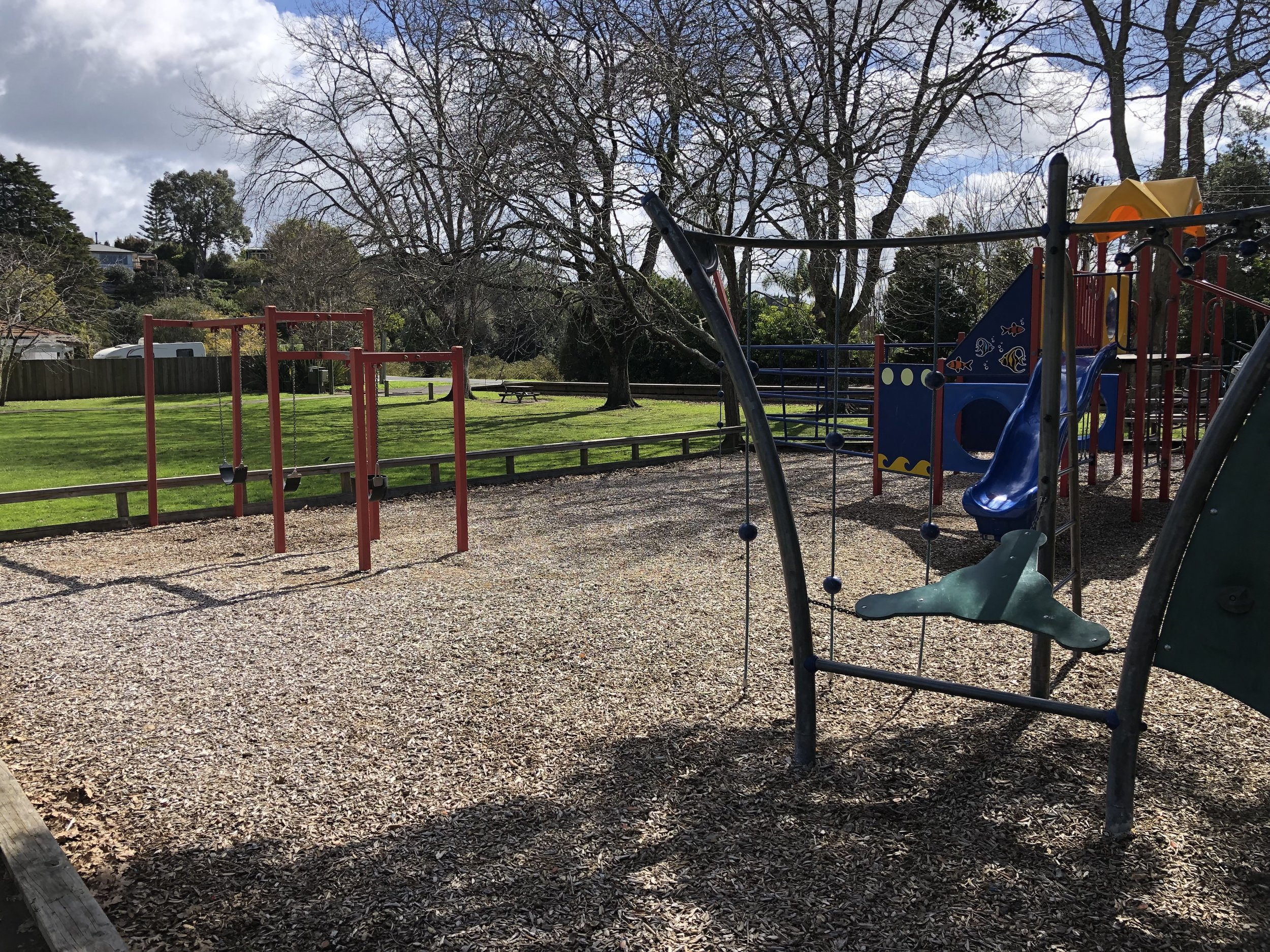 Stillwater Reserve Playground. Click to enlarge image.