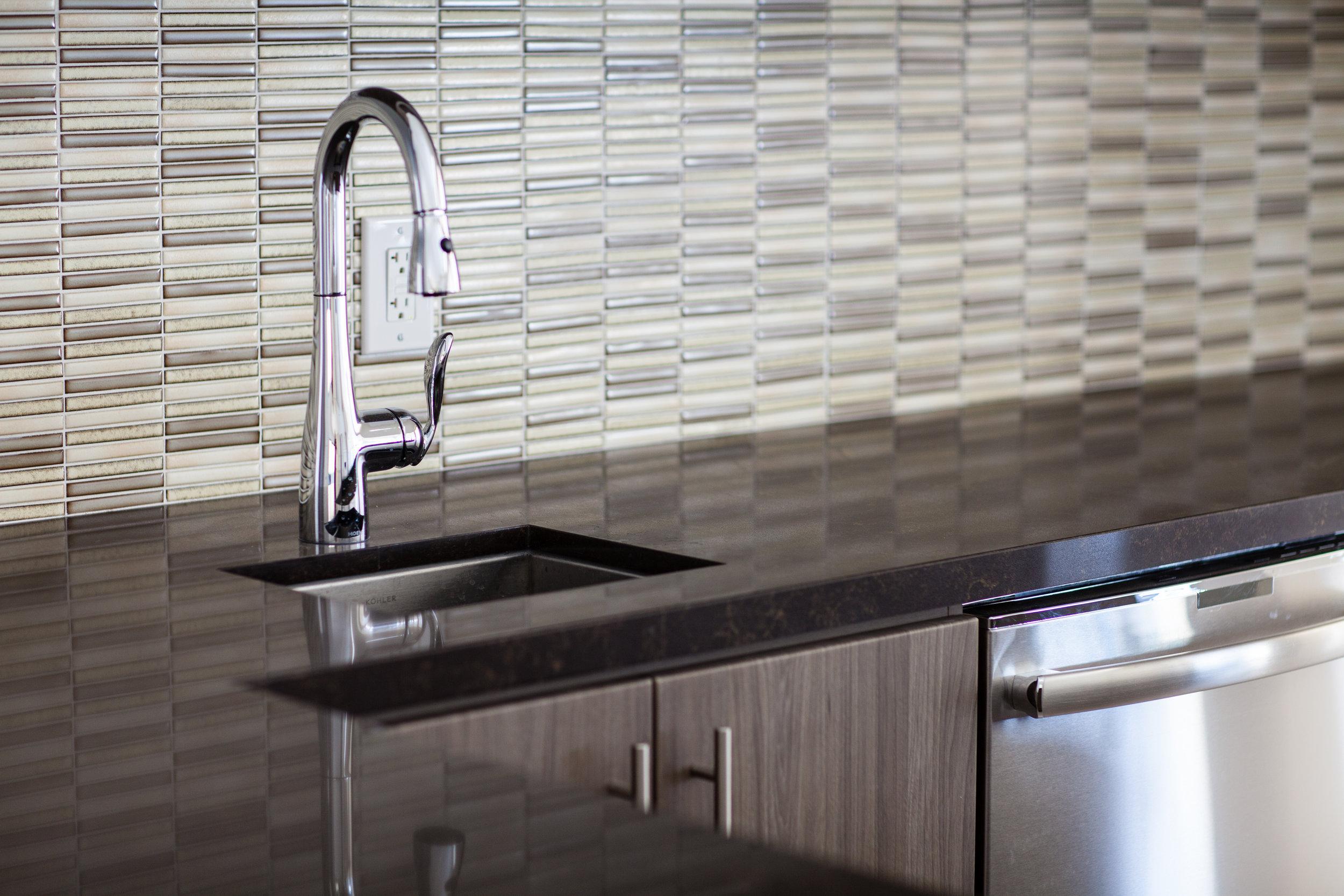 Luxury Multi-Unit: Kitchen + Sink Countertop