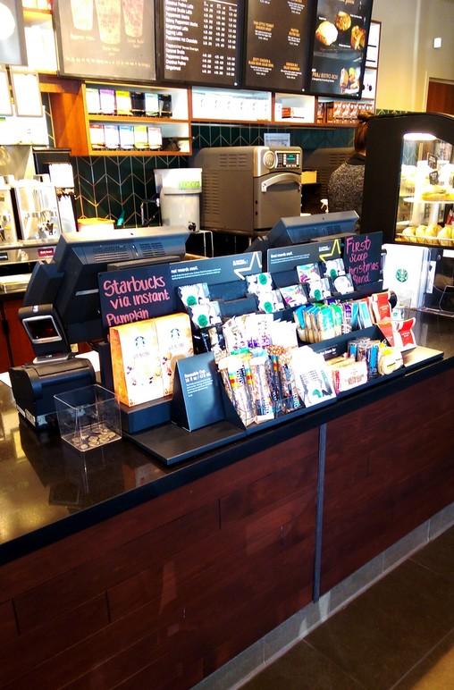 Starbucks: Service Countertop