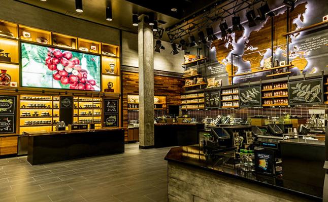 Starbucks Disney World: Countertops