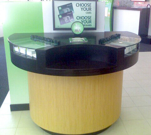 TD Bank: Countertop Round