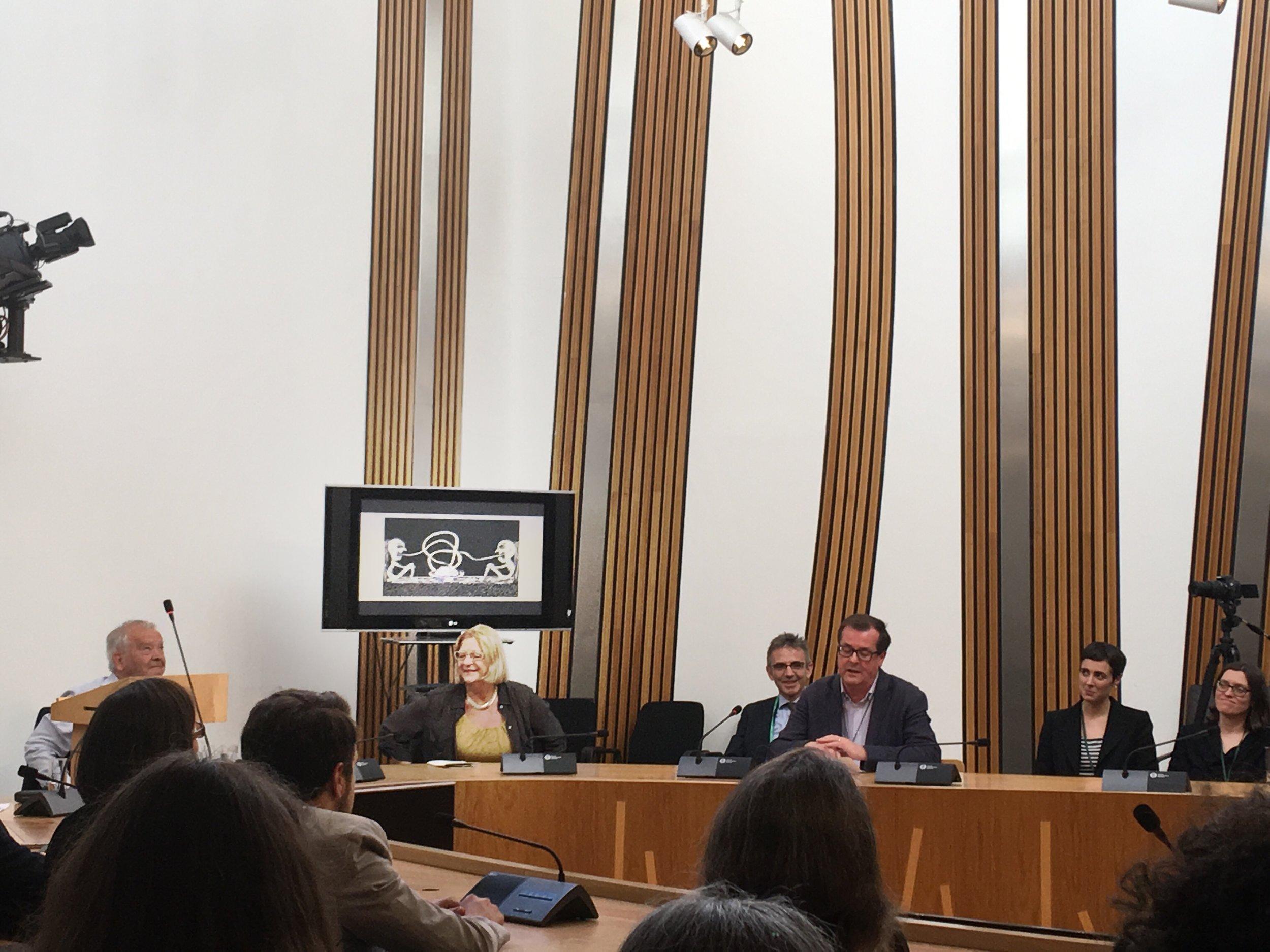 Exhibition + Curation  WW1 Scottish Parliament + the University of Edinburgh, 2017