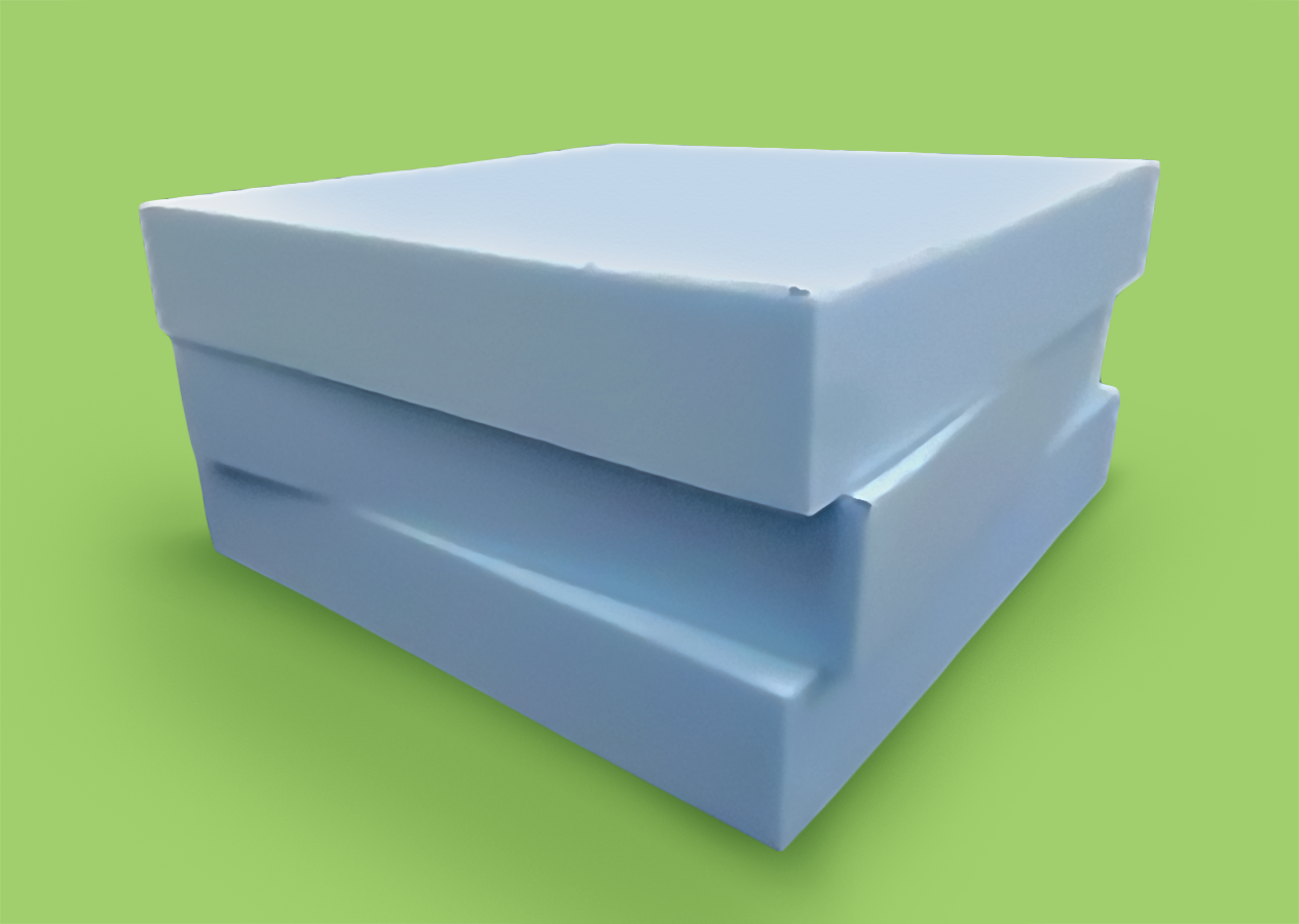 Very Firm Blue - The blue foam is our most firm cushion. Recommended for those who like a very hard seat.All sizes in inches.The foam is high density and top quality and lasts for a very long time.Choose to add a soft, polyester sheeting (Wadding) over your cushions for that extra bit of padding.Choose to have your cushions with or without stockinette. Stockinette reduces friction between the cushions and covers to reduce wear and tear, and it also makes it easier insert and remove the cushions.For shaped foam or unique orders, feel free to contact us for a quote.