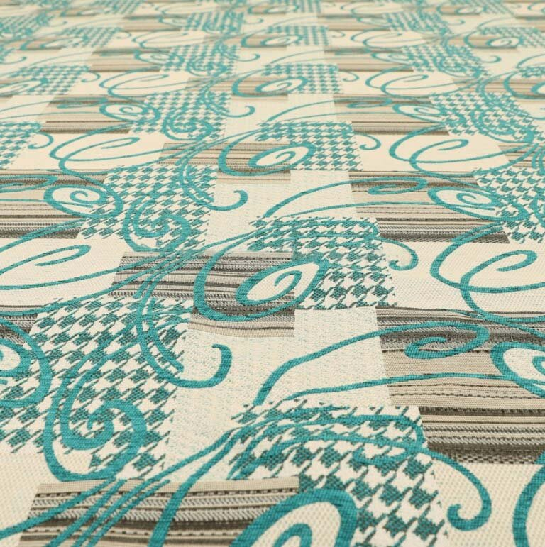Kayu Patchwork Teal