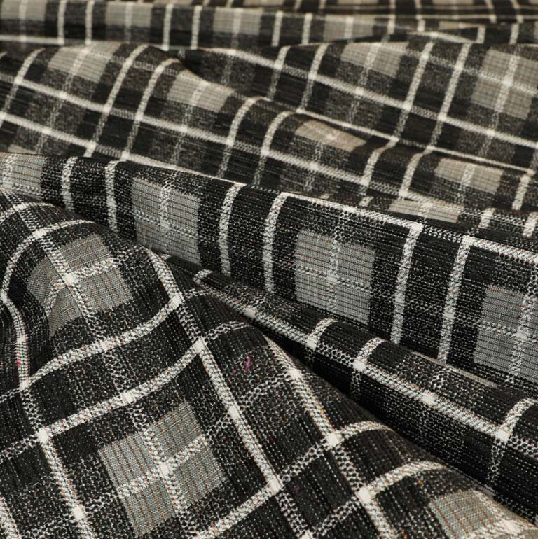 Ketu Checkered Black