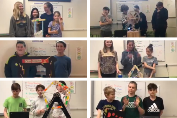 Hummingbird Robotic Kits - The 6th grade constructed carnival rides that utilized motors, lights, and coding.