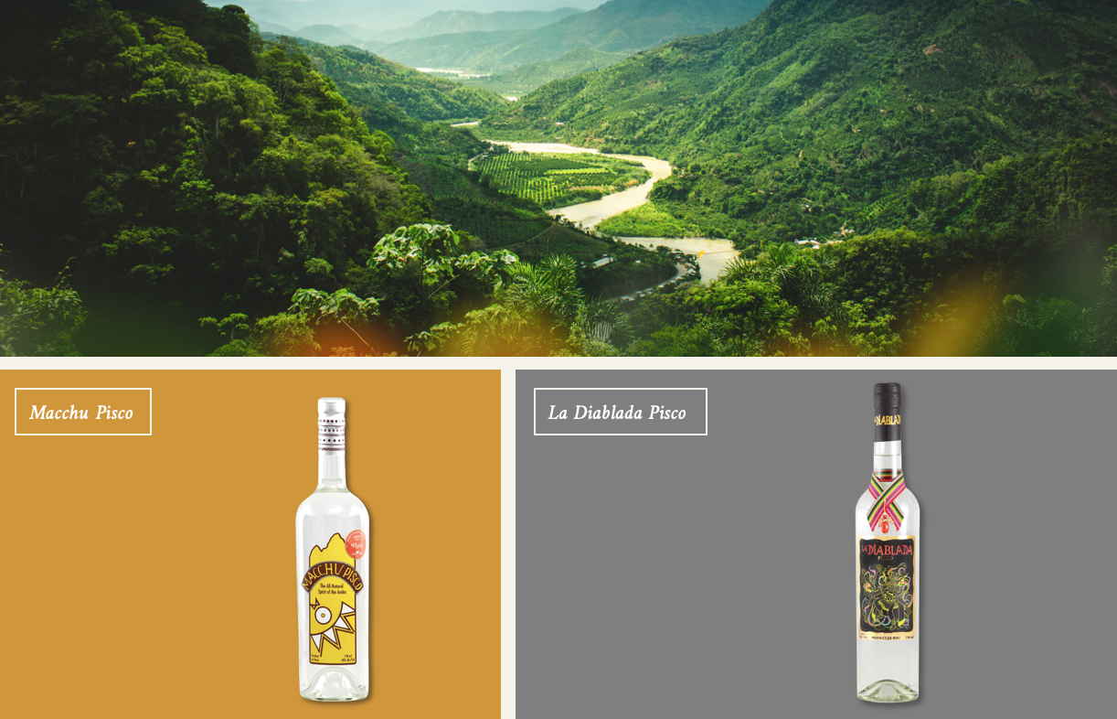 Macchu Pisco - All the highs, without the lows.