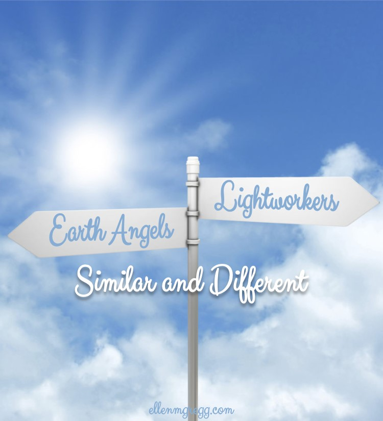 Earth Angels and Lightworkers: Similar and Different