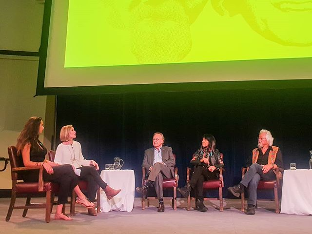 Last night, David Suzuki, Stephen Lewis and Buffy Sainte-Marie were joined by moderators Allie Rougeot and Katie Hayes for an in depth conversation about climate change, how it affects youth and how we can all collectively face a challenging future.