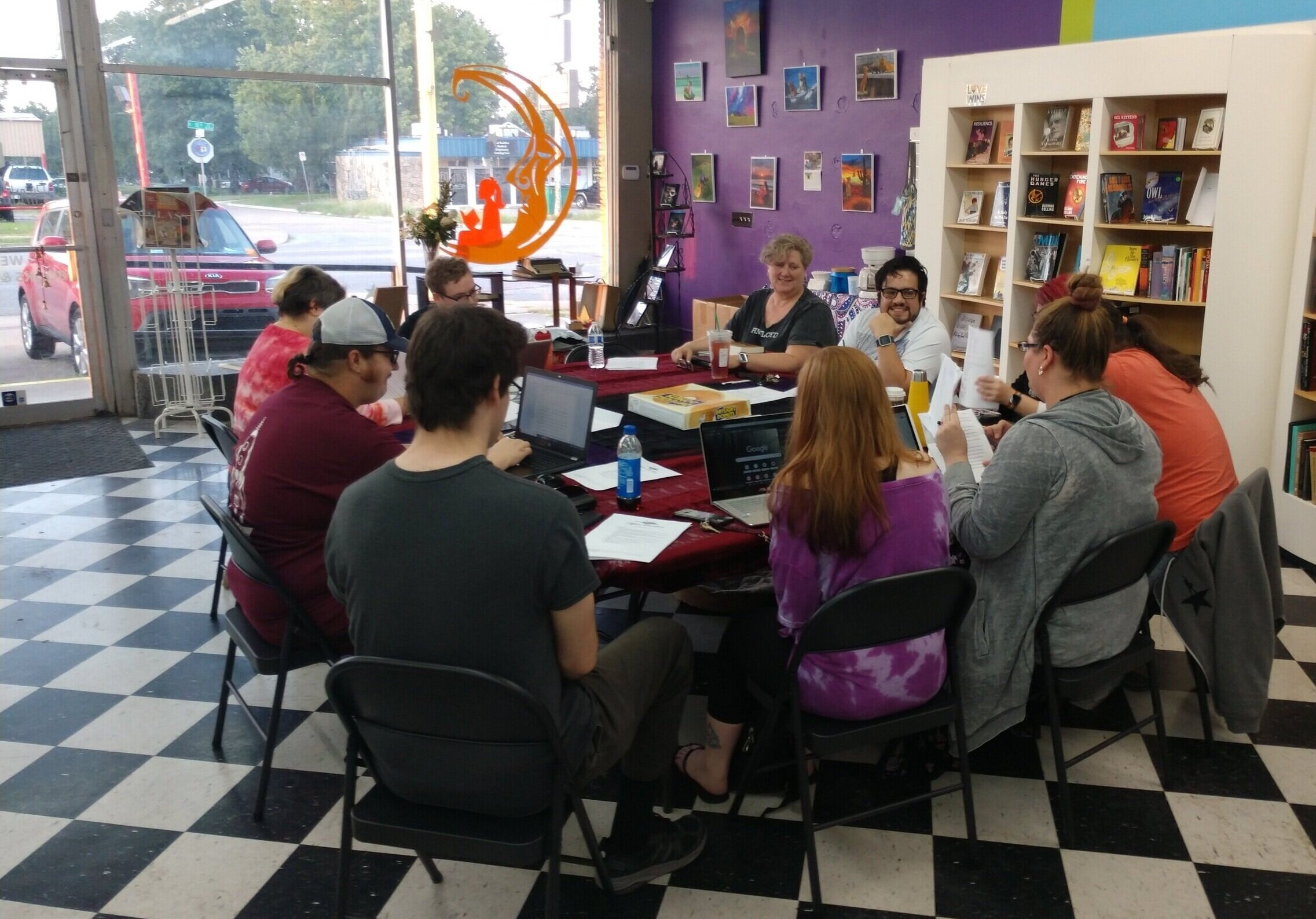 - Nevermore Edits runs two weekly writing workshops in Tulsa, Oklahoma. They are free and open to anyone who wishes to attend, regardless of skill level, genre preferences, and current story progress.
