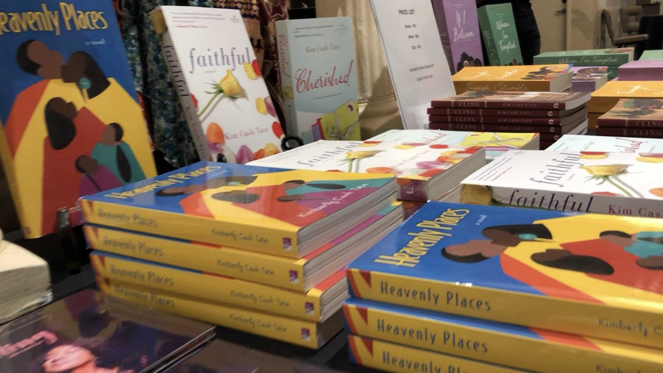 KIM's LAtest books - Check out Kim's books, including CLING, the Promises of God series, Faithful, and many more popular titles.
