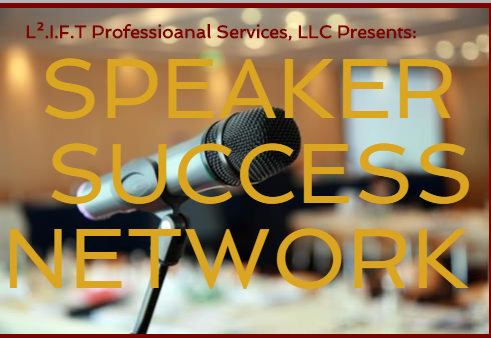 Become a SpeakerPro today! - Doors open and lives change when you use your voice to Speak! Share your expertise.