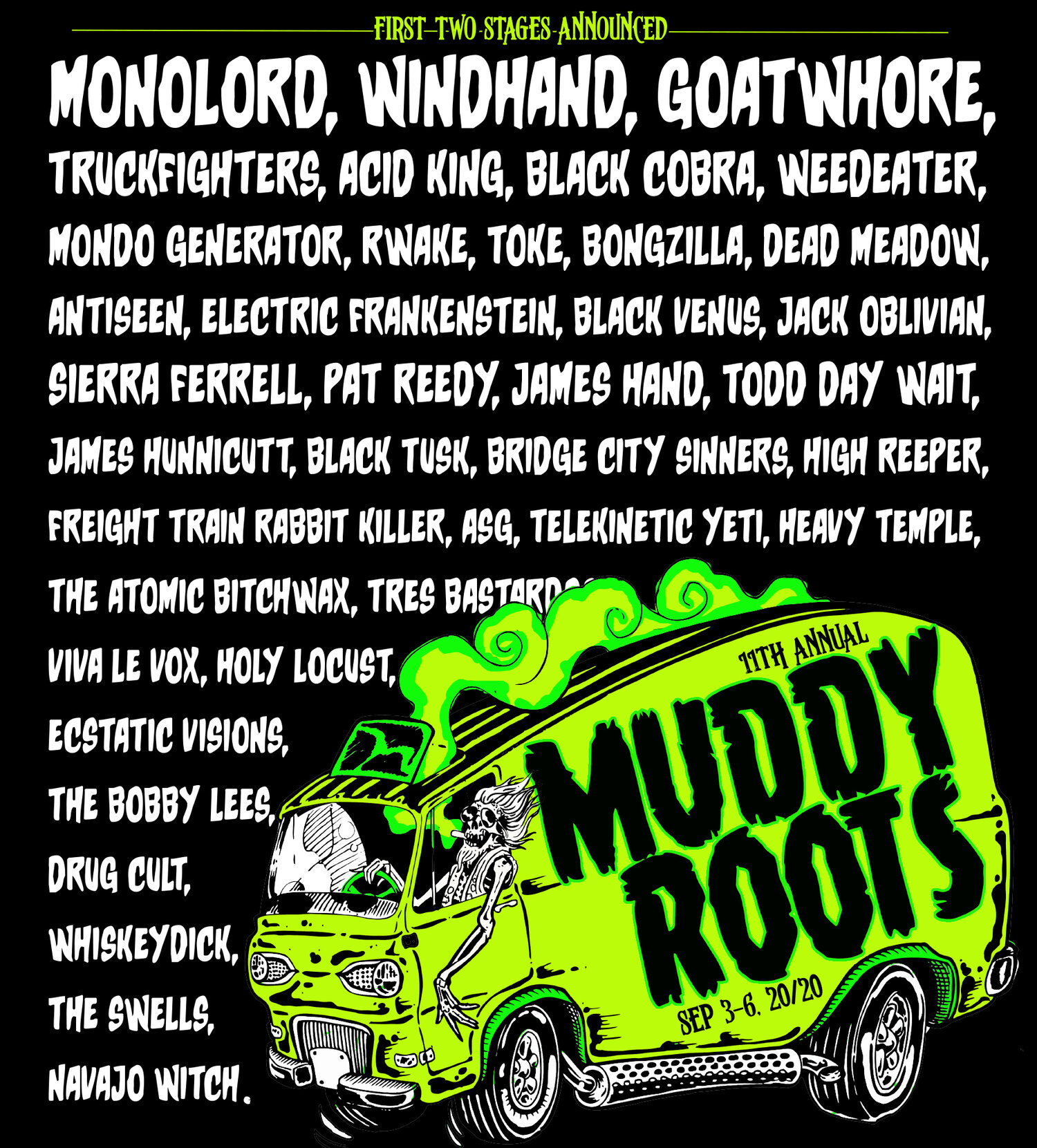 MUDDY ROOTS MUSIC FESTIVAL 2021 [ASG, Weedeater, Th Legendary Shack Shackers, Joe Buck Yourself...] - Página 10 MRMF+2020+FIRS+WAVE+sq