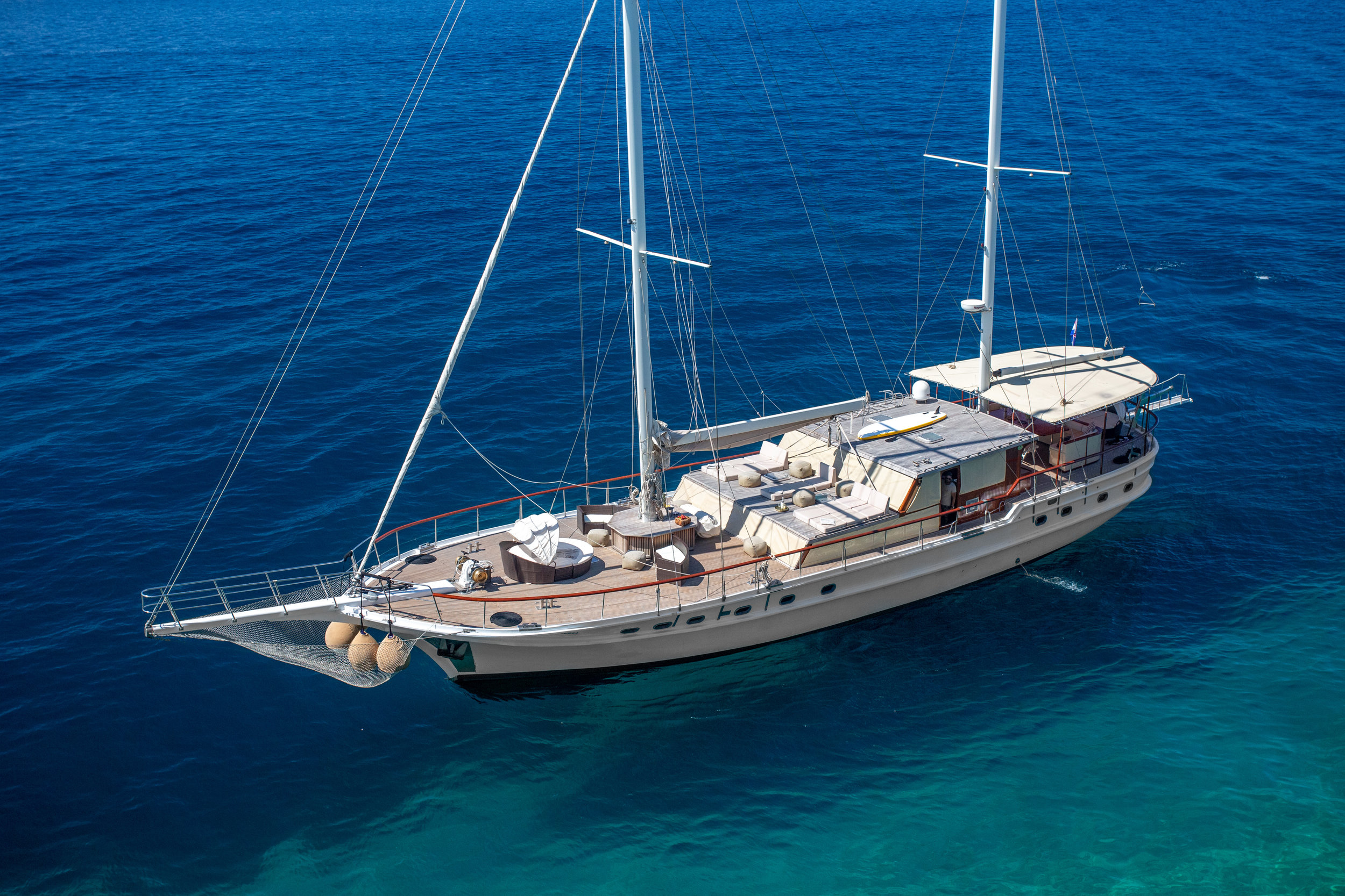 GULET SUMMER PRINCESS  LOA: 23,90m / 78,90ft  GUEST CABINS: 5 Double  MAX. NUMBER OF GUESTS: 10
