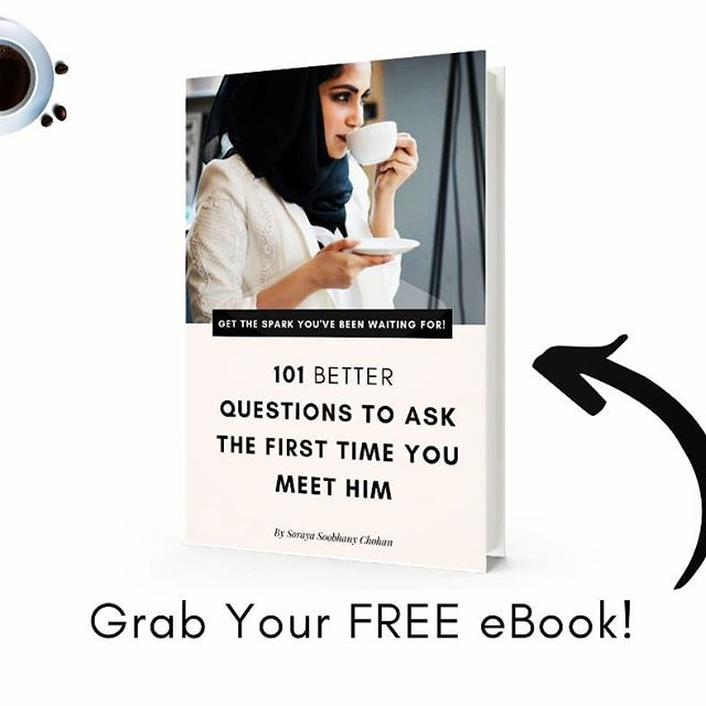 READY TO UPGRADE YOUR FIRST DATE GAME?  Grab your FREE eBook and discover my 101 BETTER questions to create that amazing connection you've been waiting for, the first time you meet so he's dying to tell his family about you!  In this FREE eBook you will learn:  Why most first meetings lead to nothing.  How to up your first meeting game so you stand out as a potential marriage partner  What to ask a guy to create a real connection  How to discover more about him than his favourite movie!  Click the link in the bio and download your FREE eBook today!