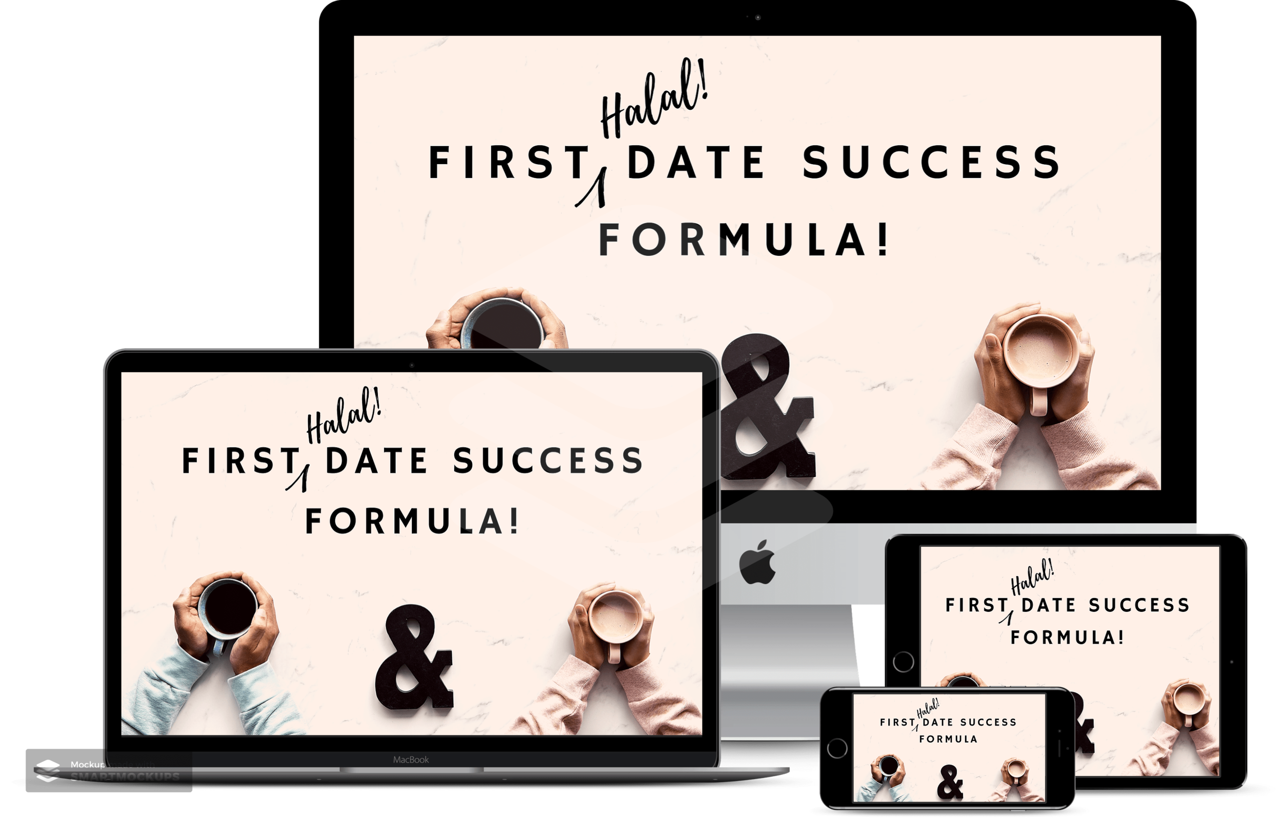 A great place to start! - If you're new to the world of singles coaching, this is a great starter kit if you want to kickstart and inject new life into your search. The First Halal Date Success Formula is designed to get you off the loop of uninspiring first dates and start making better connections right from day one.CLICK HERE to find out more