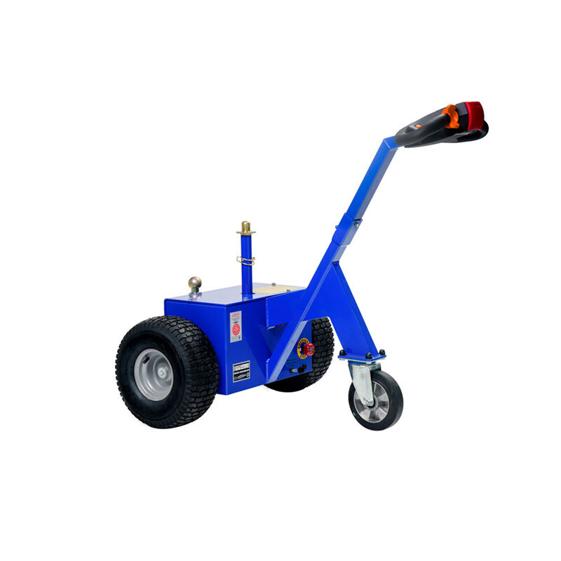 M18SV Multi-Mover - - Motorleistung 500 Watt - Zugkraft 1800 kg, 900 Newton Anfahrmoment- Länge 118 cm bis 120 cm, Breite 70 cm bis 80 cm, Höhe 111 cm bis 113 cm , zusammengefaltet 71 cm - Gewicht 80 kg