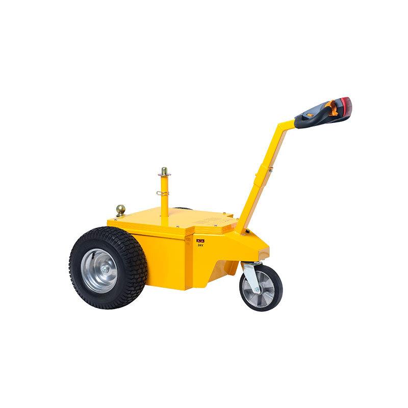 L25 Multi-Mover - - Motorleistung 800 Watt - Zugkraft 2500 kg, 1400 Newton Anfahrmoment- Länge 120 cm ( 110 cm zusammengefaltet), Breite 82 cm (70 cm schmale Bereifung), Höhe 95 cm (zusammengefaltet 71 cm) - Gewicht 180 kg