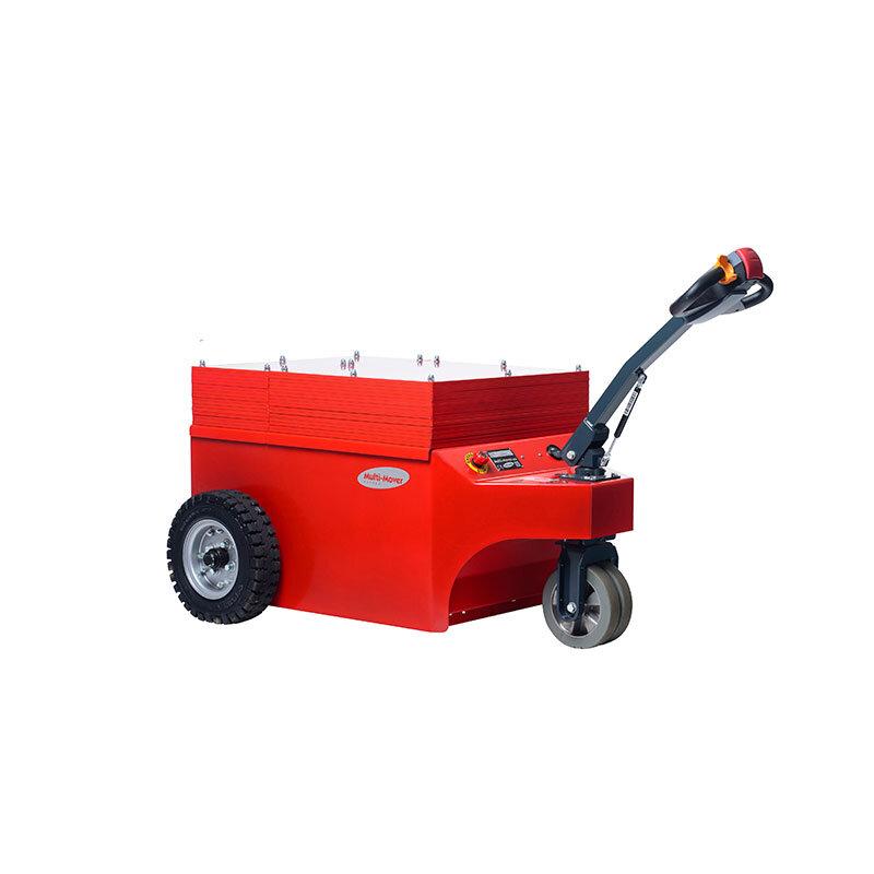 XXL15 Multi-Mover - - Motorleistung 4 Kilo Watt - Zugkraft 15.000 kg 9.900 Newton Anfahrmoment - Breite 96 cm, Länge 140 cm, Höhe 72 /140 cm- Gewicht 1550 kg