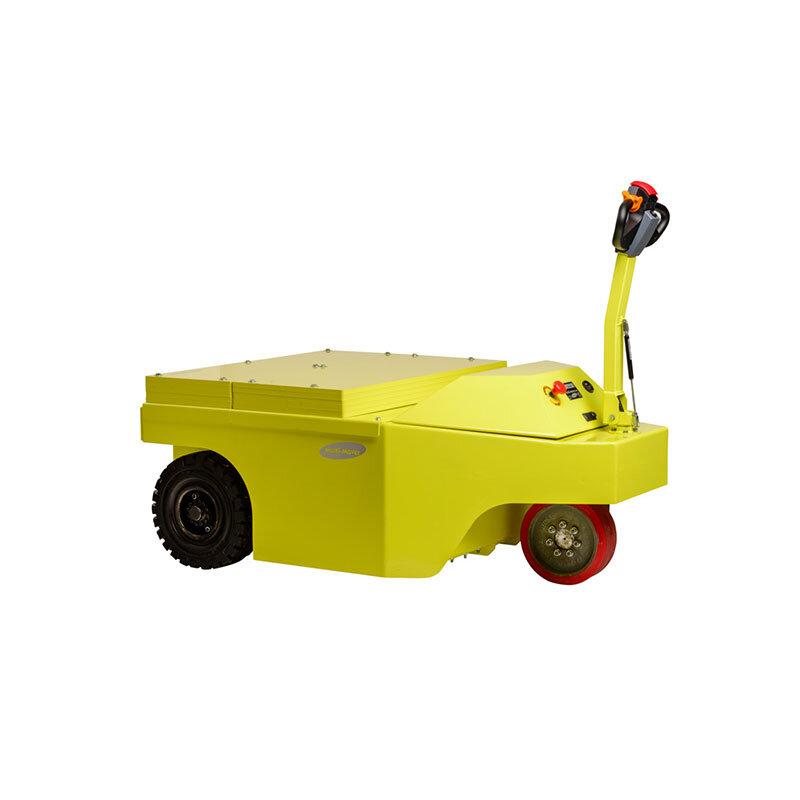 3XL40 Multi-Mover - - Motorleistung 10 Kilo Watt - Zugleistung 17.500 Newton (Industrieanhänger bis 40.000 kg)- Breite 123 cm, Länge 185 cm, Höhe 160 cm (max. 105 cm lenkbare Deichsel)- Gewicht 4000 kg