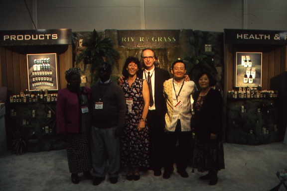 River of Grass booth and collaborators.jpg