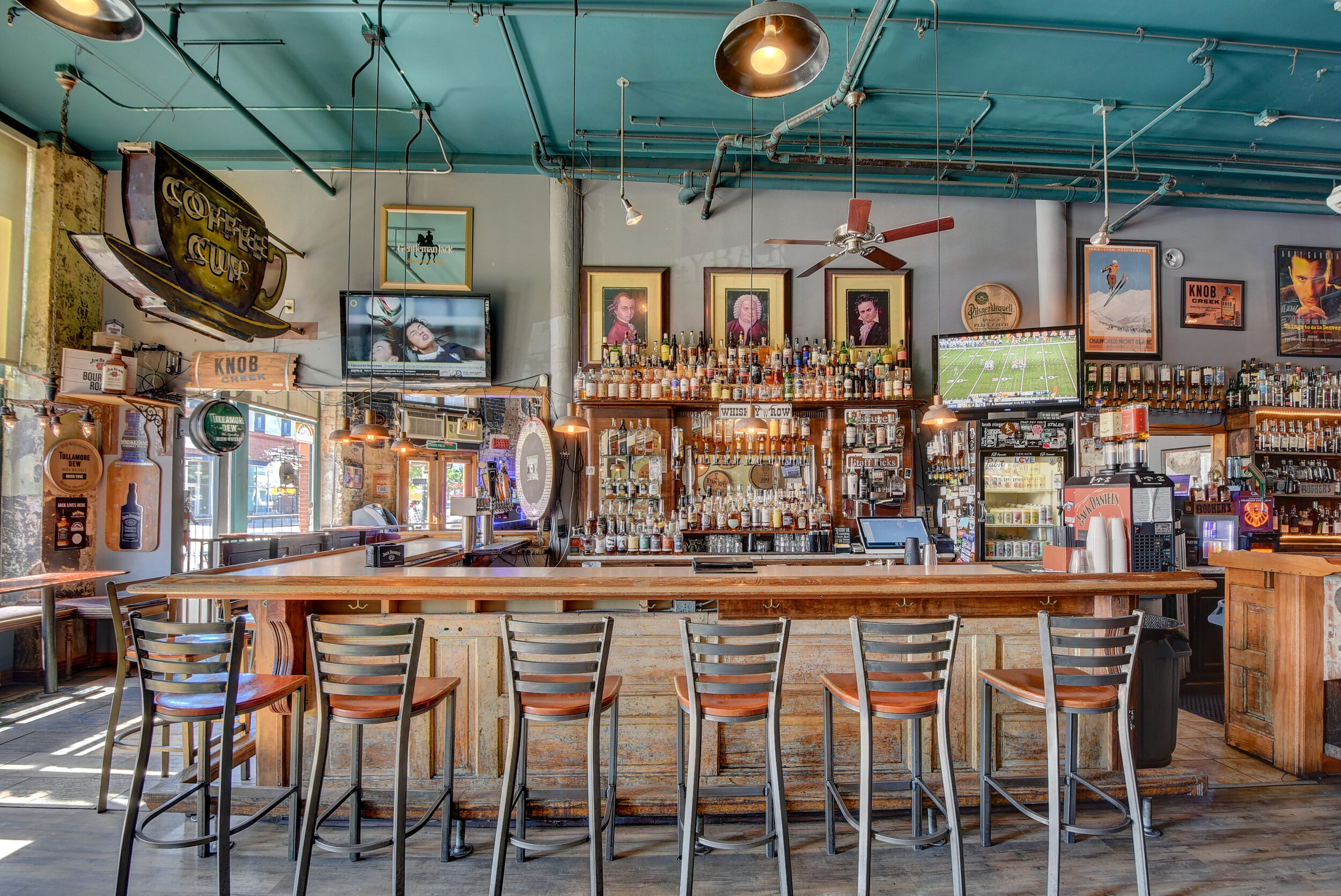 Happy Hour Everyday 4 - 7 pm $4 You call it!!! - *top shelf excluded but still too good to be true
