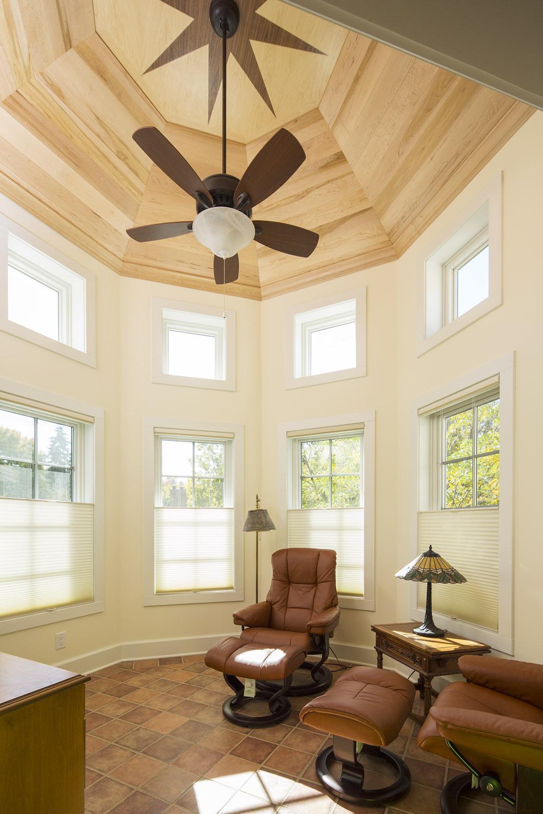 Interior, Victorian Turret Addition