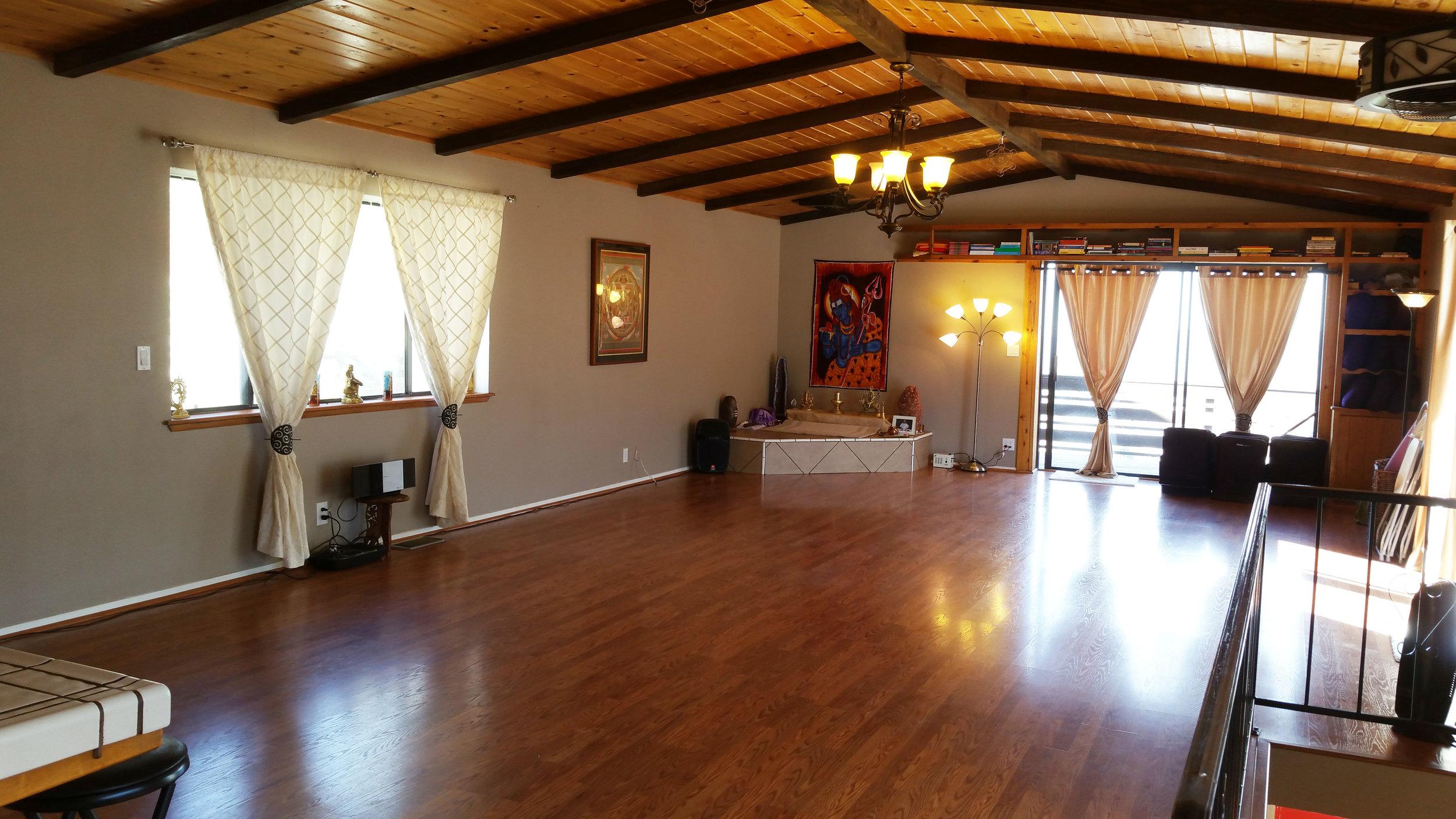 Indoor workshop hall