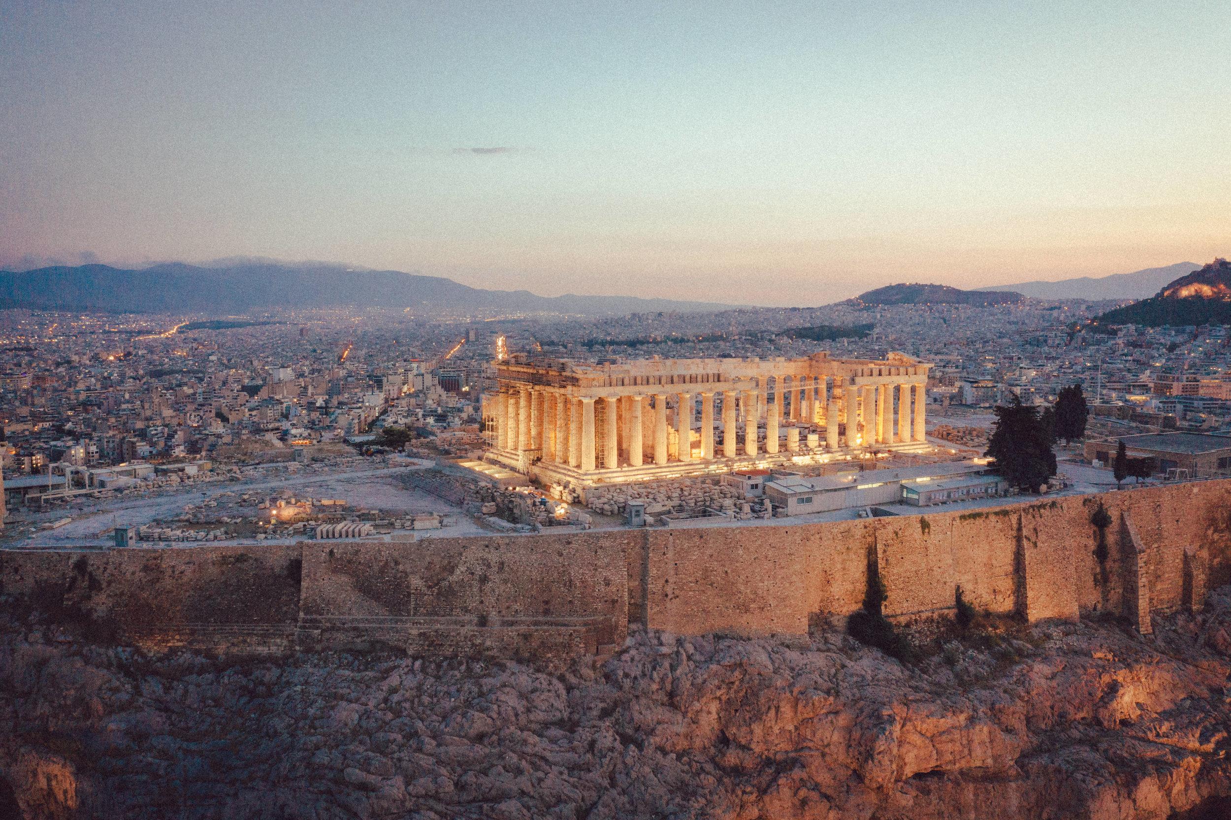 Acropolis at sunrise