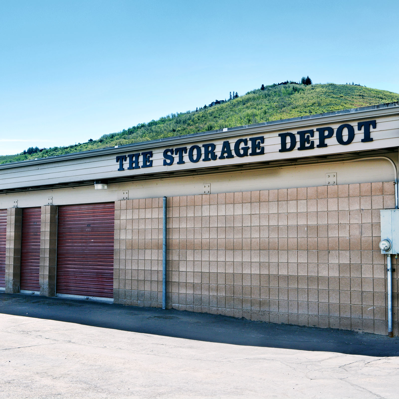 The Storage Depot Monthly Storage Unit Rental